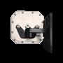 Mini Far Field RFID Antenna Mount Black