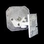 Mini Far Field RFID Antenna Mount White