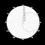 Circular Polarized 7x7 UHF RFID Far Field Antenna Radiation Pattern