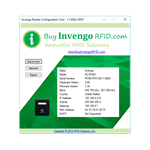 Invengo UHF RFID Reader Configuration Tool
